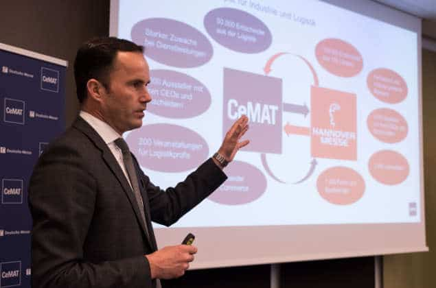 CeMAT und Hannover Messe 2018: Logistik 4.0 trifft Industrie 4.0