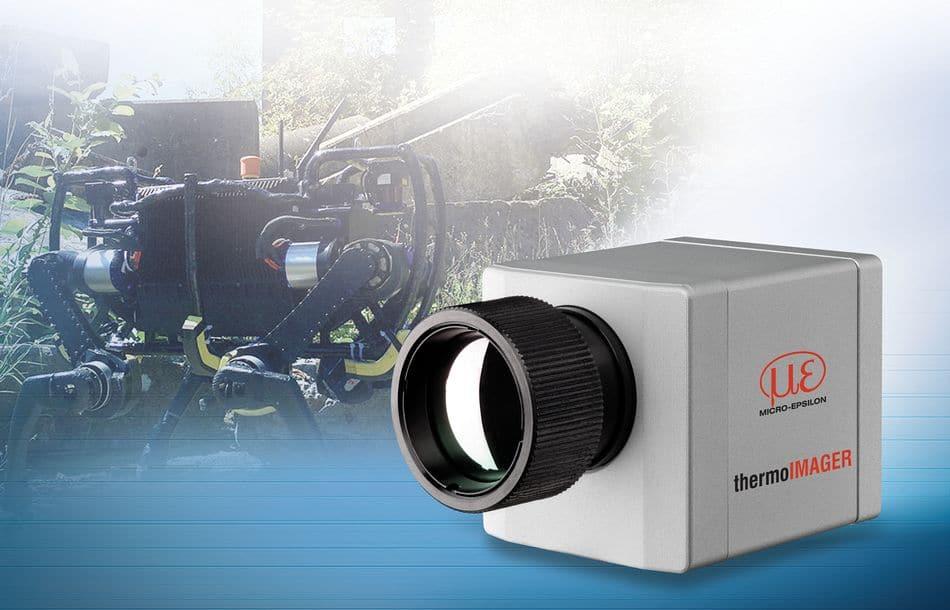 Mit Wärmebildkamera auf heißer Spur