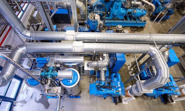 Kolbenkompressor-Energiesparkonzept