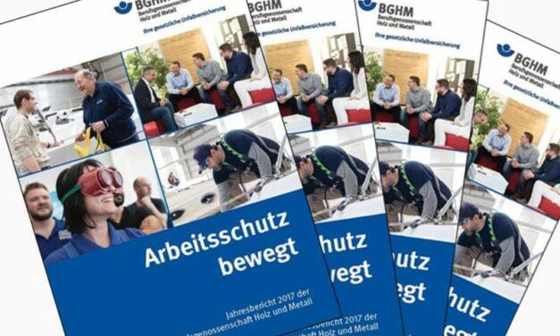 BGHM-Jahresbericht: Weniger Arbeitsunfälle – mehr Wegeunfälle