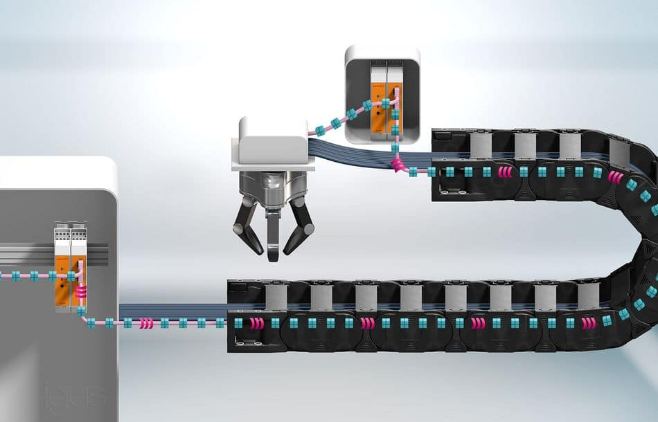 Intelligente Busleitung für sichere Automation