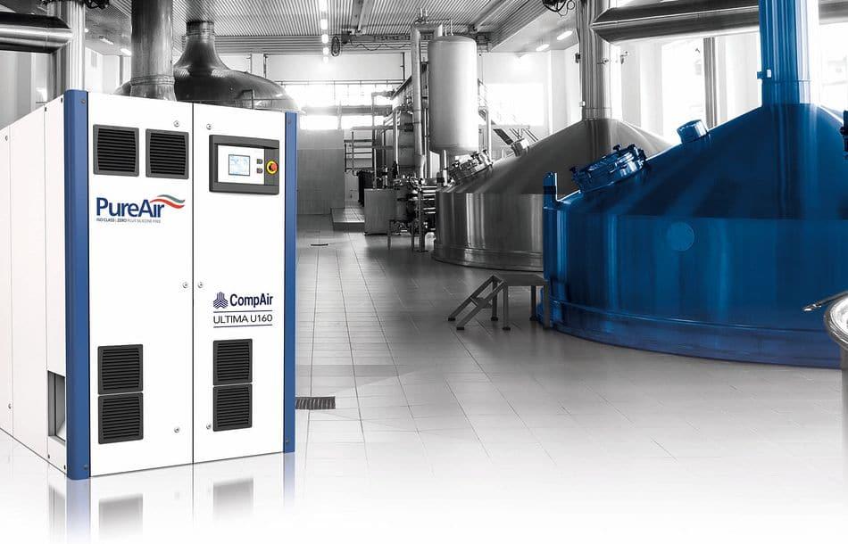 Drucklufttechnik für eine energiebewusste Branche