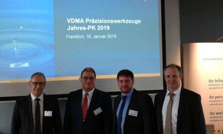 VDMA Präzisionswerkzeuge vermeldet für 2018 neues Rekordniveau