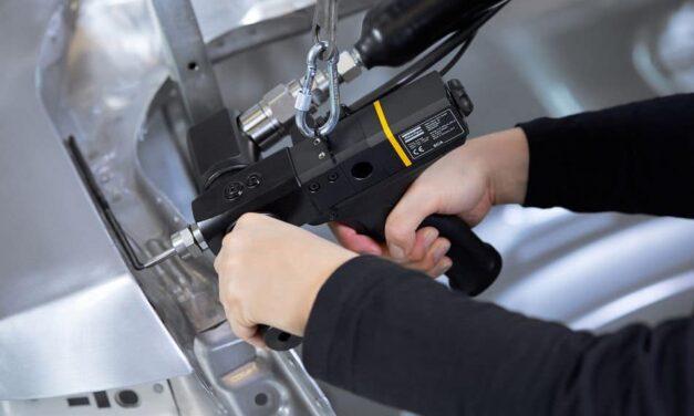 Ergonomischen Handapplikator für Klebstoff