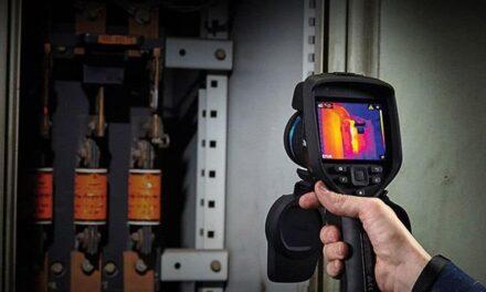 Wärmebildkamera für elektrische, mechanische und gebäudespezifische Anwendungen