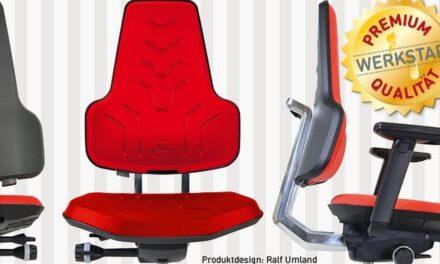 Ergonomischer Arbeitsstuhl erhält German Design Award 2019