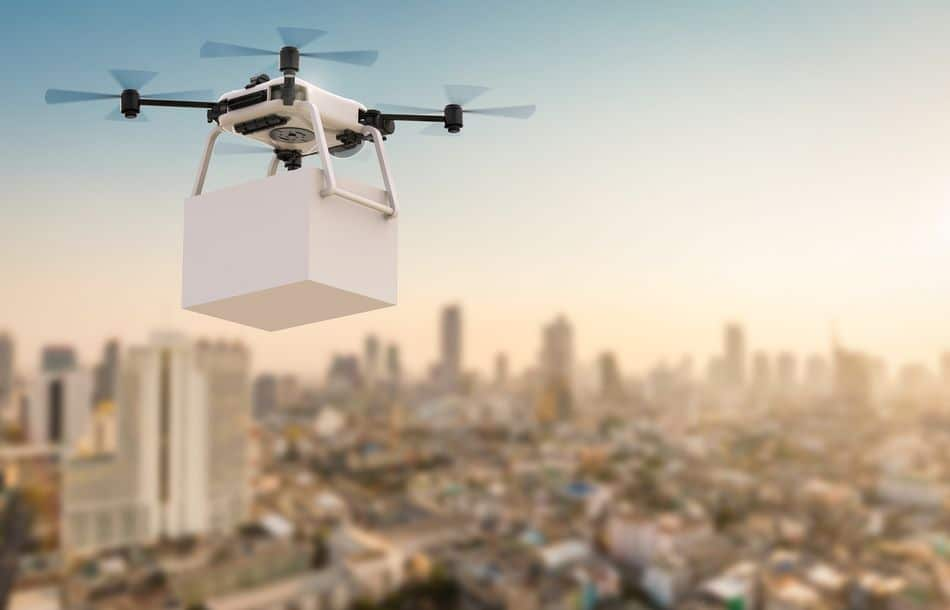Drohnen in der Intralogistik