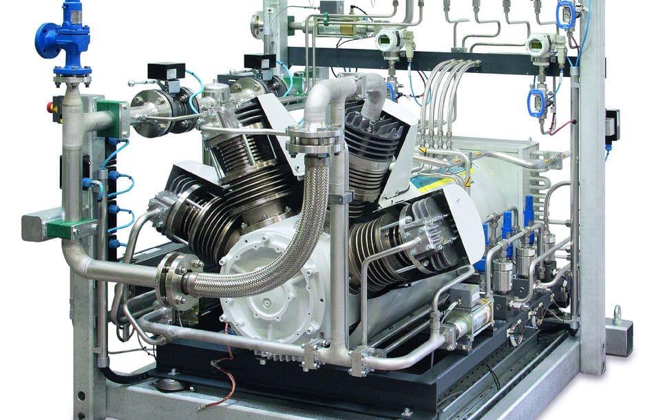 Kompressoren und Verdichter für Enddrücke bis 500 bar(ü)