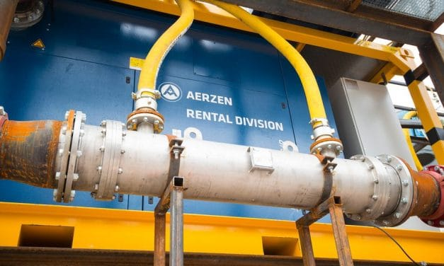 Mit Druckluft gegen Grundwasser