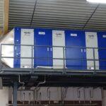 Sprühwäscher beseitigt Formaldehyd und VOC