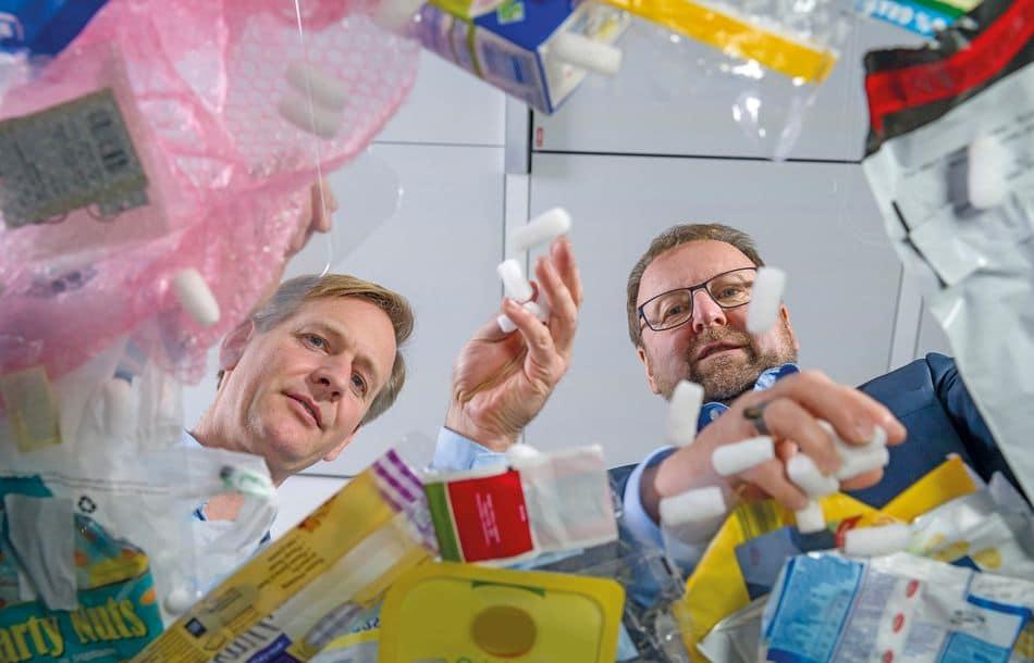Kunststoffabfälle als Rohstoffquelle