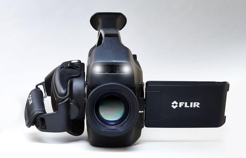 Optische Gasdetektionskamera mit HD-Auflösung