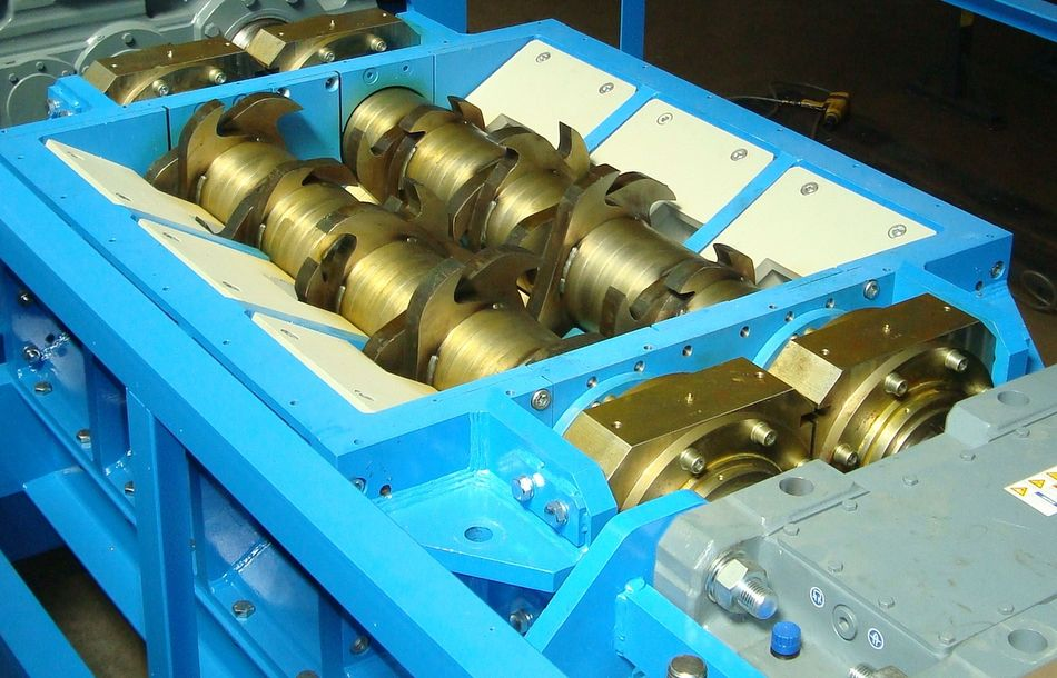 Zerkleinerungstechnik für das Metallrecycling