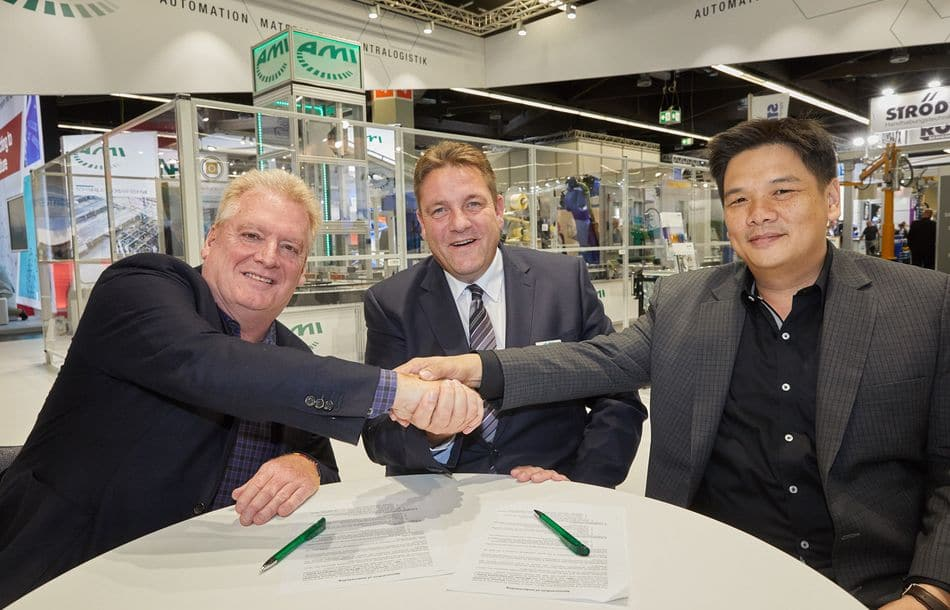 AMI Förder- und Lagertechnik verstärkt internationale Aktivitäten