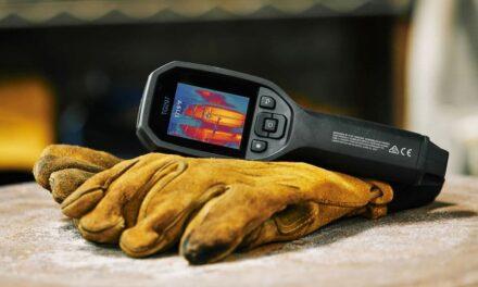 Berührungslose Temperaturmessung und Wärmebildgebung in einem Gerät vereint