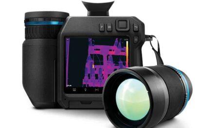 Mit Hochleistungs-Wärmebildkamera industrielle Inspektionen effizienter ausführen
