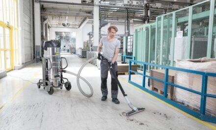 Industriesauger: leistungsstark und ergonomisch