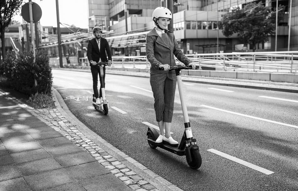 Im Betrieb sicher unterwegs mit dem E-Scooter