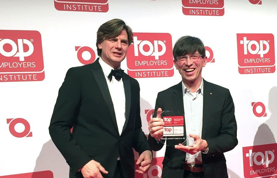 Phoenix Contact als Top-Arbeitgeber für Ingenieure ausgezeichnet