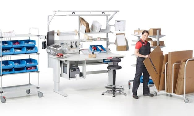 Flexibel gestaltete ergonomische Arbeitsplätze