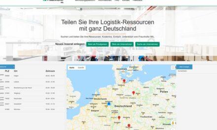 Fraunhofer IML startet Internetplattform zur Aufrechterhaltung von Logistikketten