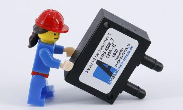 Barometrischer Wireless-Drucksensor
