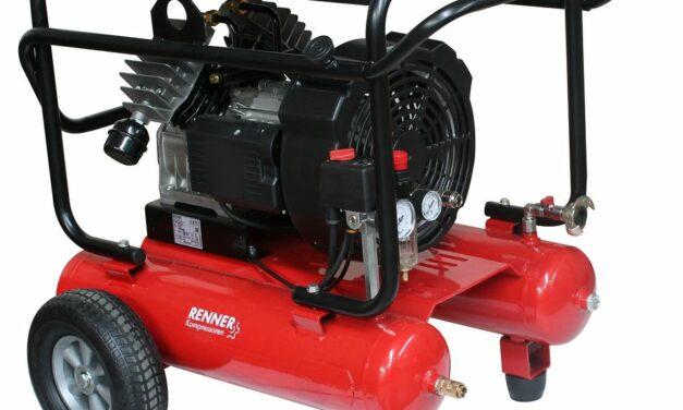 Neues bei mobilen Kolbenkompressoren