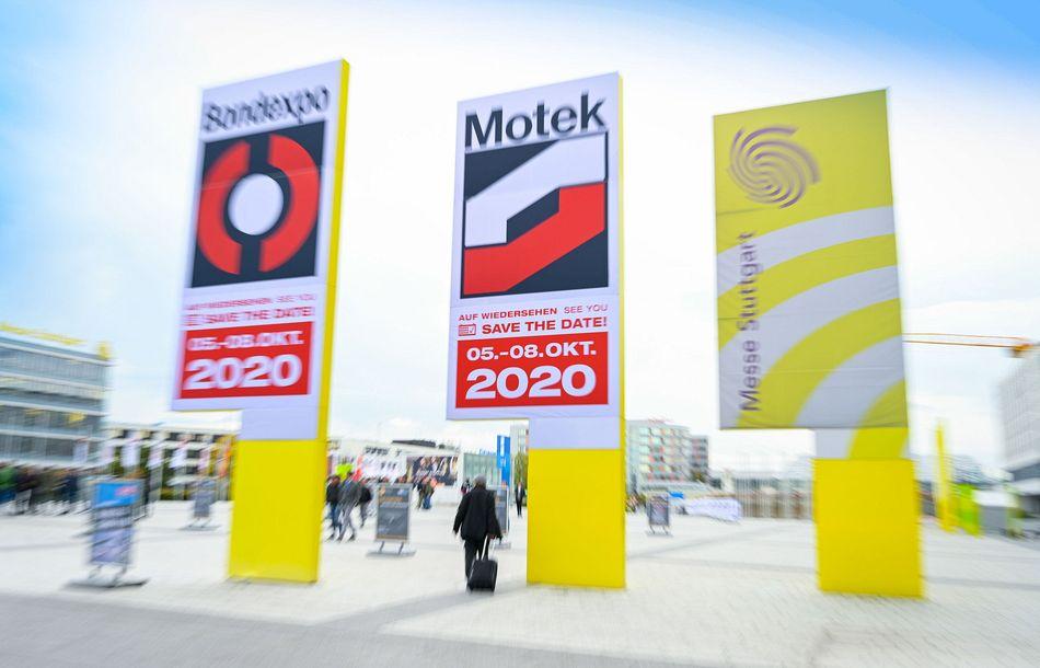 Motek und Bondexpo 2020 gehen in Startposition