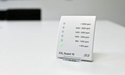 CO2-Ampel zur Überwachung der Raumluftqualität