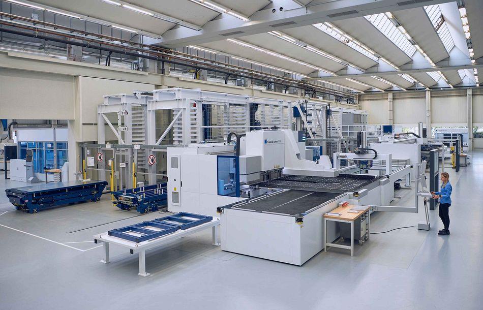 Trumpf eröffnet neue Smart Factory in Ditzingen