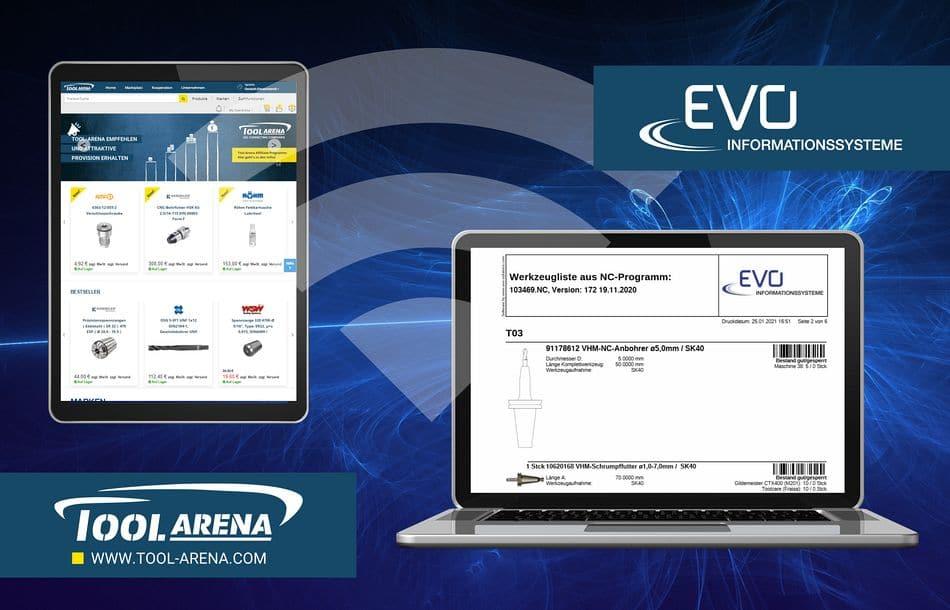 Tool-Arena und EVO: Software, die verbindet