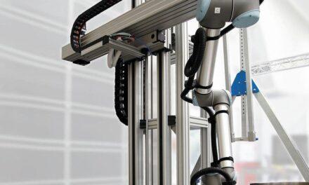 Montagearbeitsplätze mit Cobot-Anbindung