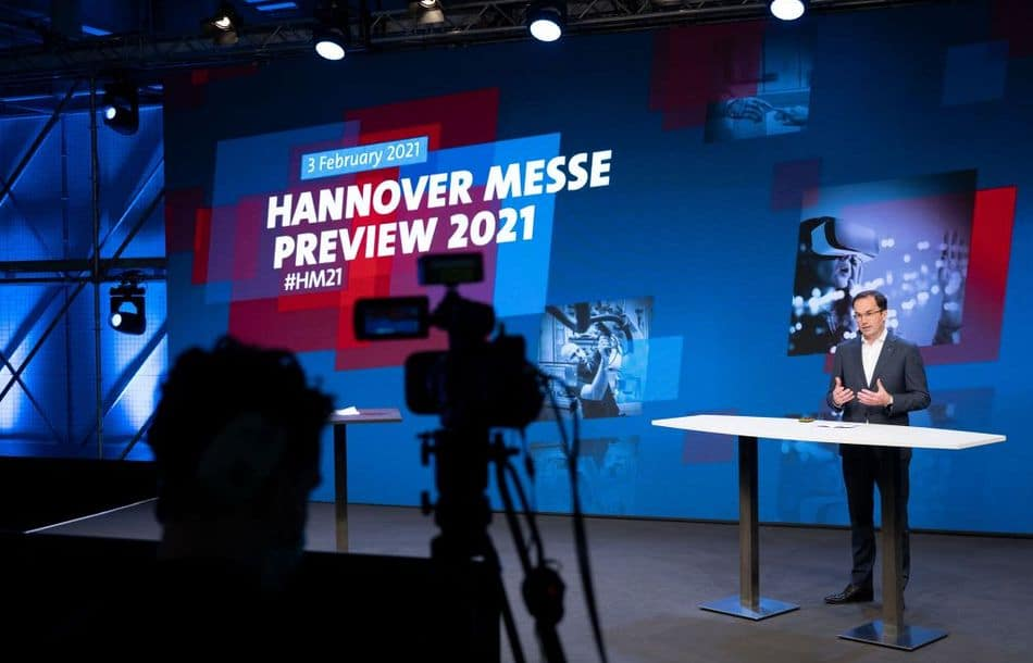 Hannover Messe 2021 als Digital Edition