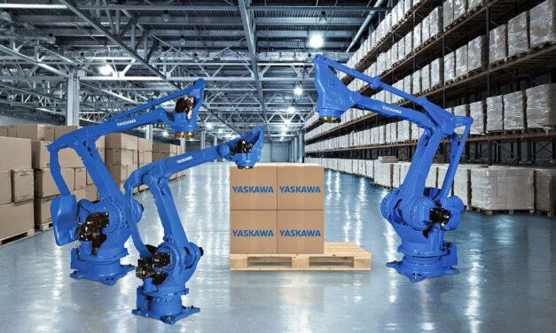 Neue Palettierroboter-Serie: schnell, kompakt und kraftvoll