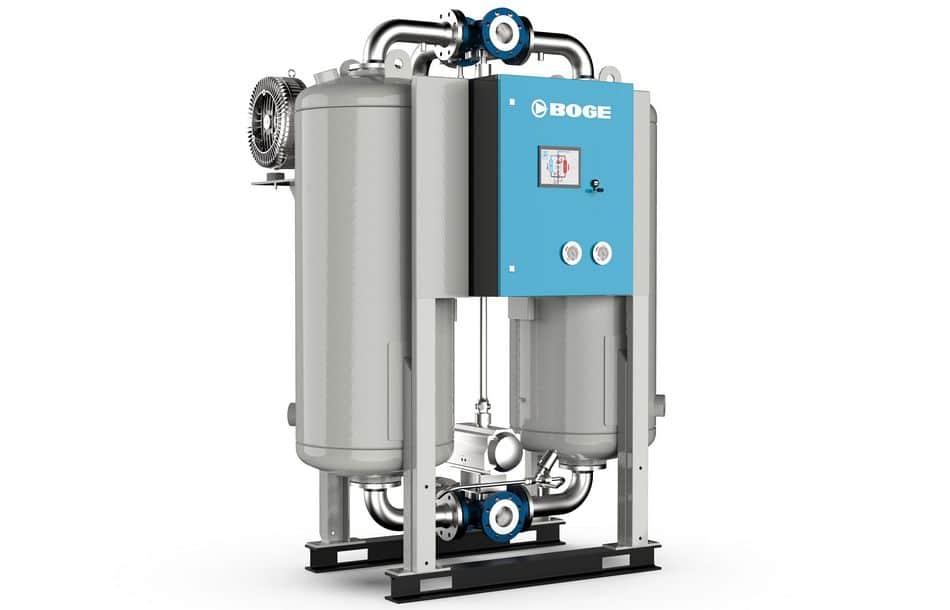 Neue Adsorptionstrockner für hohe Volumenströme
