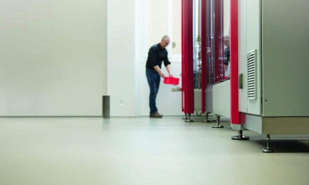 Leitfähige Bodenbeschichtungen schützen Mensch und Elektronik