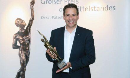 Großer Preis des Mittelstandes: Schmalz hat gewonnen!